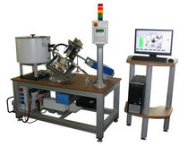 Vickers hardness tester / floor-mounted / motorized