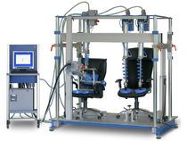 Multi-parameter test stand / for seats / double / pneumatic