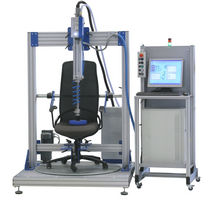 Seat test stand / rotating / pneumatic