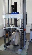 Compression testing machine / for fiberglass-reinforced pipes / mechanical
