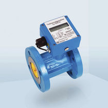 Turbine flow meter / for nitrogen / flange