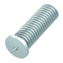 Capacitor discharge welding stud / threaded / aluminum