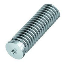 Threaded stud / capacitor discharge welding / stainless steel