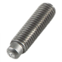 Threaded stud / butt weld / steel