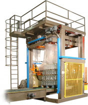 Automatic pallet wrapping machine / shrink film / vertical / for pallets