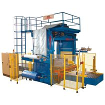 Automatic pallet wrapping machine / shrink film / for pallets