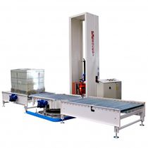 Gas shrink oven / overwrap