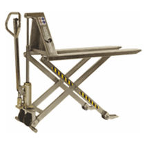 Hand pallet truck / stainless steel / multifunction