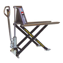 Hand pallet truck / multifunction / high-lift / stainless steel