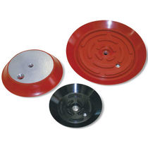 Circular suction cup / flat / for heavy-duty applications / handling