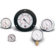 Pressure gauge / Bourdon tube / dial / process