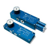 Multi-stage vacuum generator-ejector / anodized aluminum