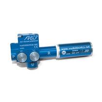 Anodized aluminum vacuum generator-ejector