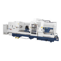 CNC lathe / 2-axis / high-productivity / for heavy-duty machining