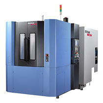 CNC machining center / 3-axis / horizontal / high-precision