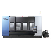5-axis machining center / vertical / traveling-column / for large workpieces