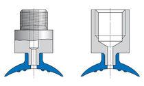 Circular suction cup