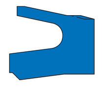 Lipped seal / U-shaped / piston