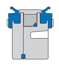 Lip seal / aluminum / piston / pneumatic