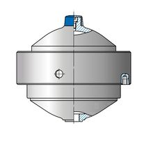 Membrane accumulator