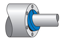 Braided graphite packing / for high-speed pumps