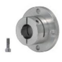 Shaft end support / precision / flange