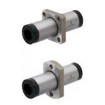 Ball linear bearing / flange-mount