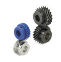Helical gear / steel / shaft