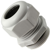Nylon cable gland / liquid-tight / strain relief / screw-lock