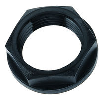 Hexagonal lock-nut / nylon
