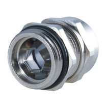 Nickel-plated brass cable gland / EMC