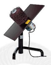 Handheld sander-polisher / electric / brush / lightweight