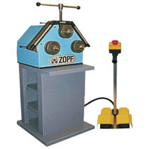 Manually-operated bending machine / pipe / profile / with 3 drive rolls