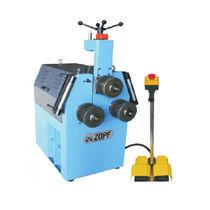 Hydraulic bending machine / electric / pipe / profile