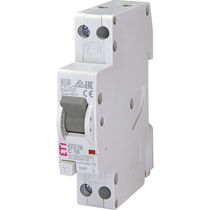 Residual current circuit breaker with overcurrent protection / single-pole / modular / molded case