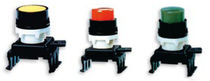 Spring push-button switch / single-pole / electromechanical / standard