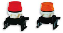 Steady indicator light / panel-mount / IP65 / round