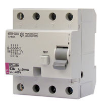 Molded case residual current circuit breaker / residual current / modular