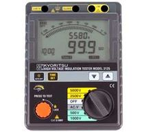 Insulation tester / high-voltage / digital