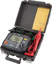 Tester / insulation resistance / high-voltage / portable / digital