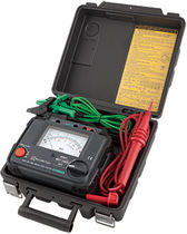 Insulation tester / high-voltage / analog / automatic