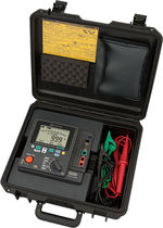 Insulation resistance tester / for high-voltage / battery / digital