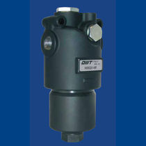 Liquid filter / hydraulic / pressure / threaded