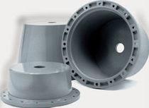 Cooled bellhousing / for pumps / for motors / aluminum
