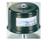 Air filter / threaded / for tanks / suction
