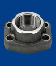 Joining flange / for pipes / steel / threaded