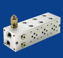 Multi-channel manifold / aluminum / threaded / weld