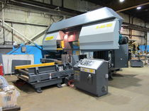 Band saw / double-column / horizontal / semi-automatic