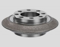 Gear grinding wheel / peripheral / CBN