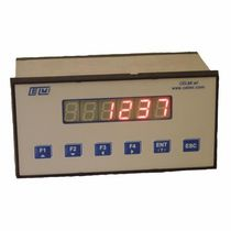 Digital weight indicator-controller / with analog output / Modbus RTU / panel-mount